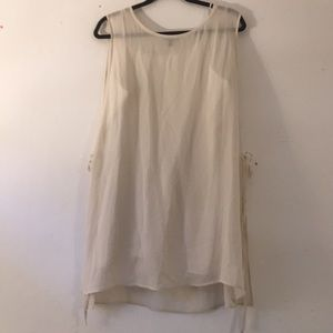 NWOT Eileen Fisher Silk Tunic Top